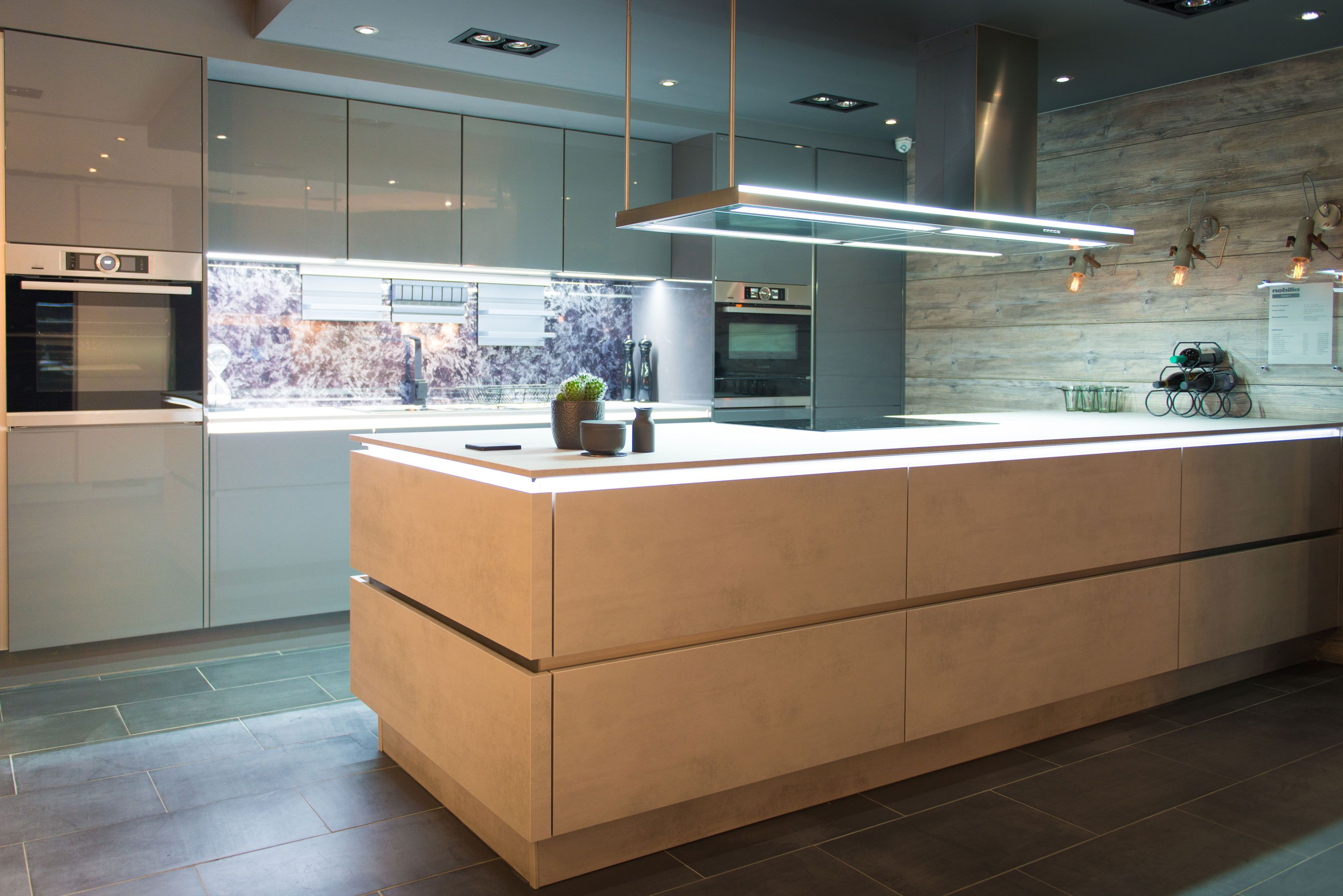 kitchen mood lighting. Mood Lighting And Modern Working In Perfect Harmony Kitchen Mood W