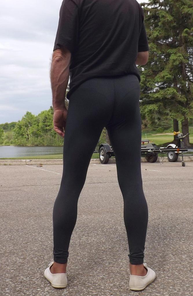 2019 Yoga Pants men's sport leggings