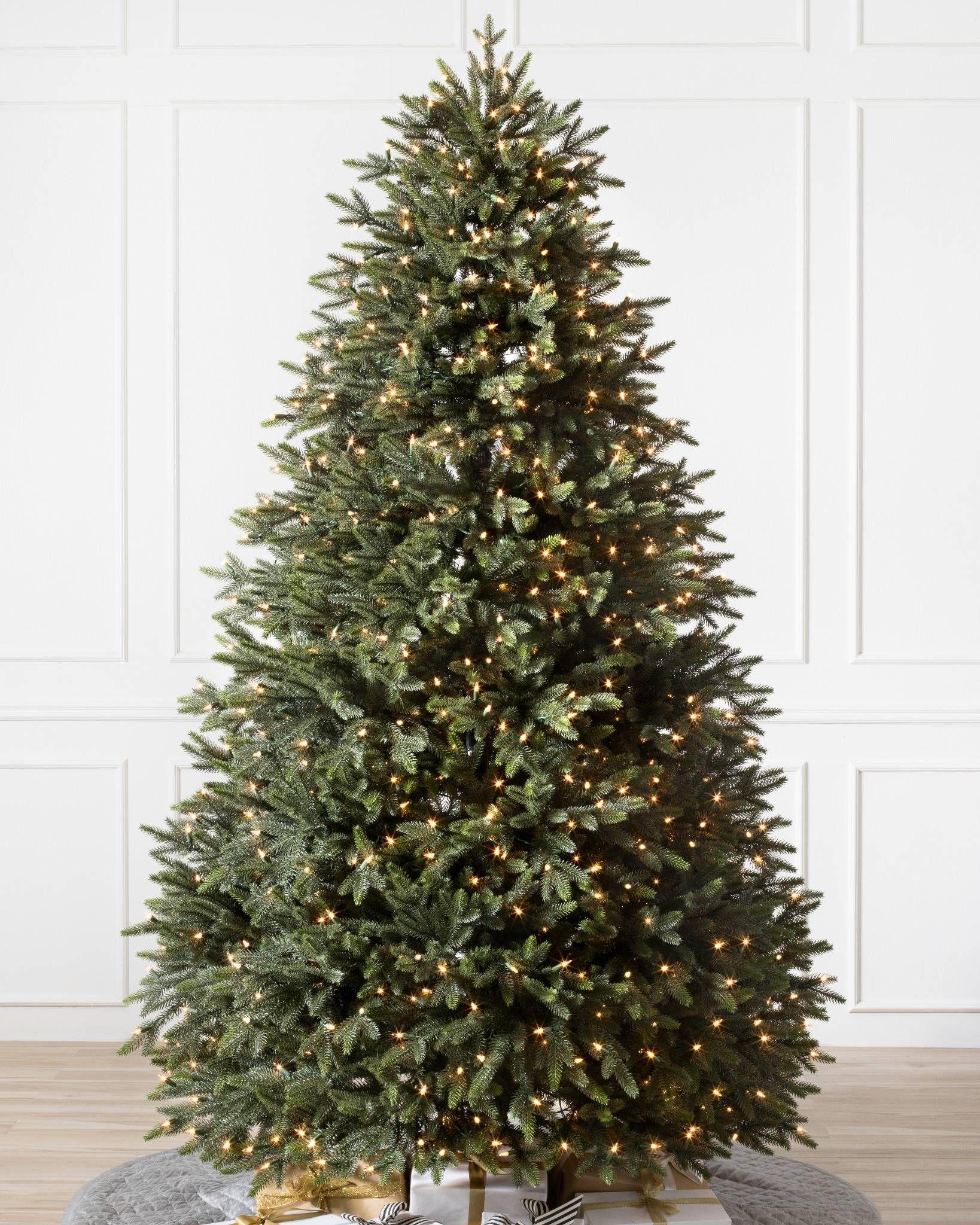 Centennial Fir Artificial Christmas Tree Balsam Hill