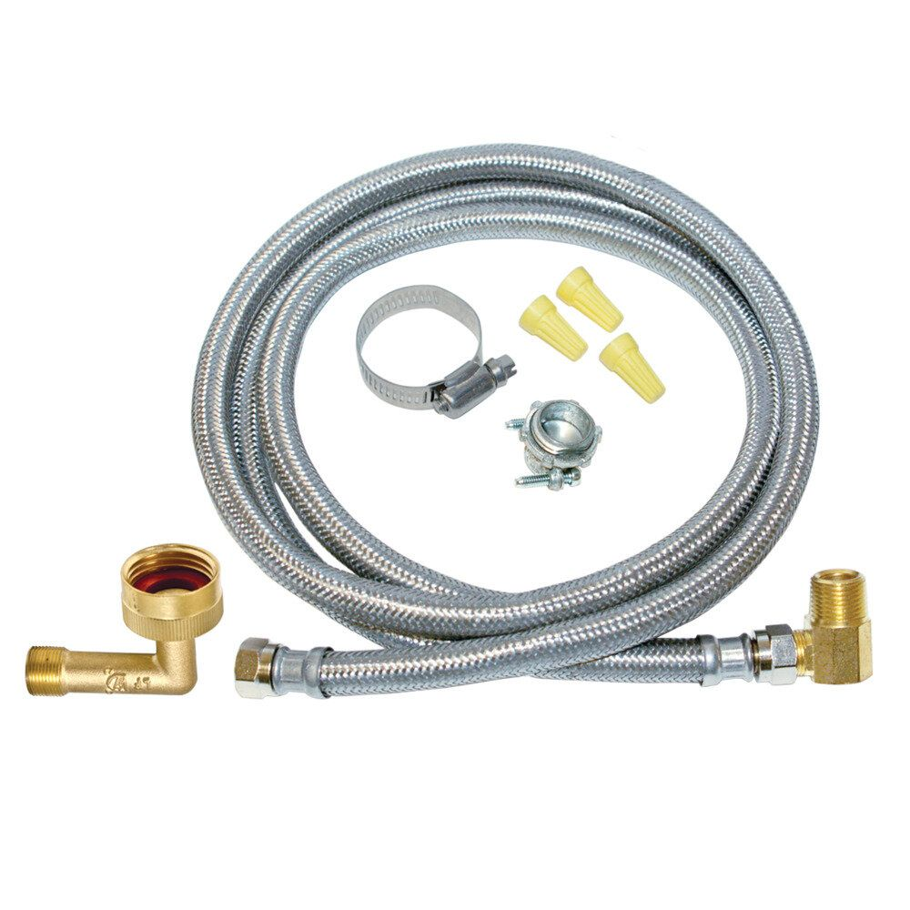 6 ft. Eastman Dishwasher Supply Line Installation Kit