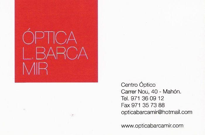Optica Barca Mir