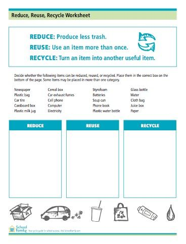 Use This To Help Your Children Understand What Gets Recycled