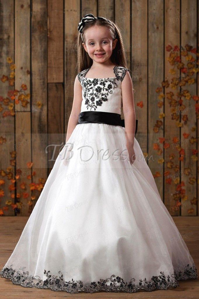 TBdress Reviews for ALine Floorlength Flower Girls Dress