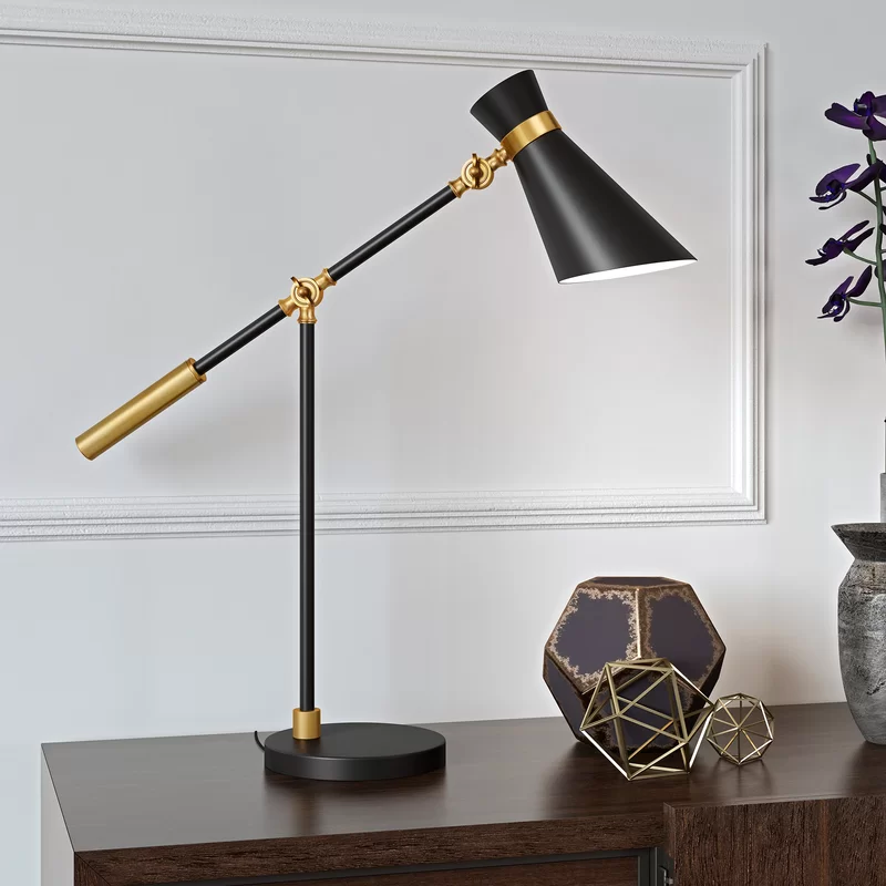 "Wrought Studio Ogorman 30"" Desk Lamp Wayfair in 2020"