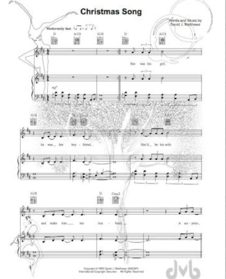 Christmas Song | Dave matthews