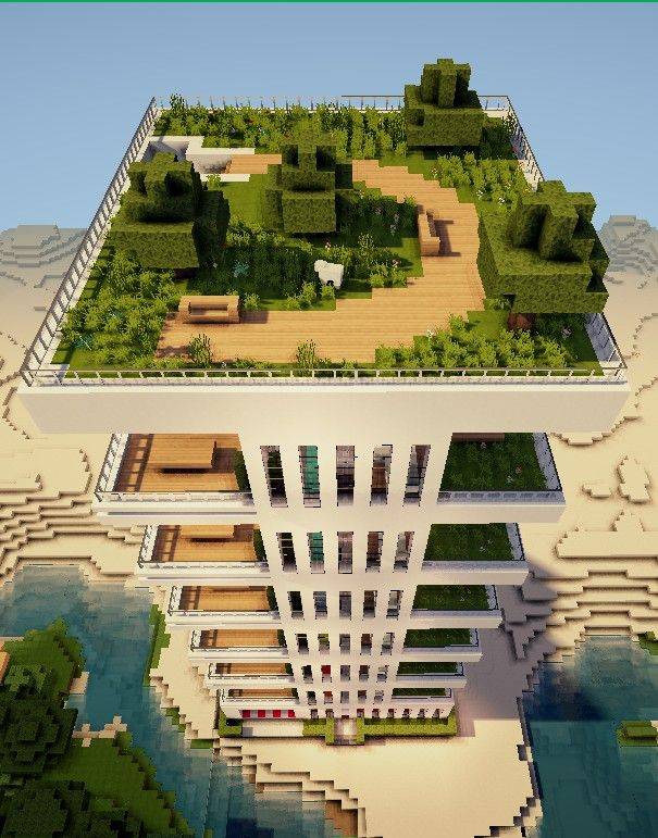 Modern Appartements 2 Minecraft Map