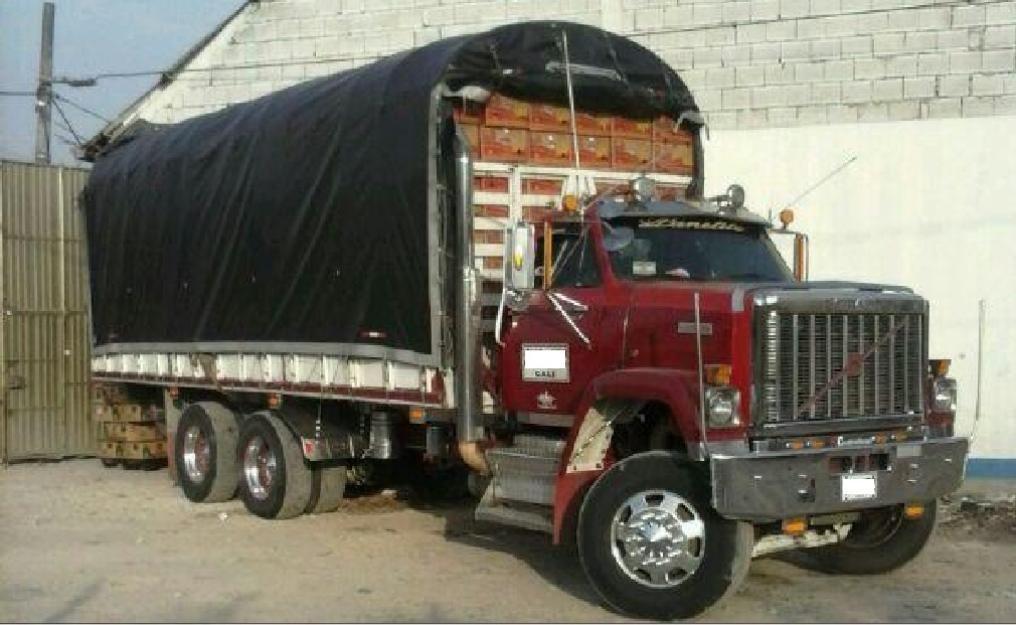 Camion Doble Troque Brigadier Carepanela Rojo Cummis 20141219111338 Jpg Camiones Chevrolet Camiones Clasicos Camiones Dodge