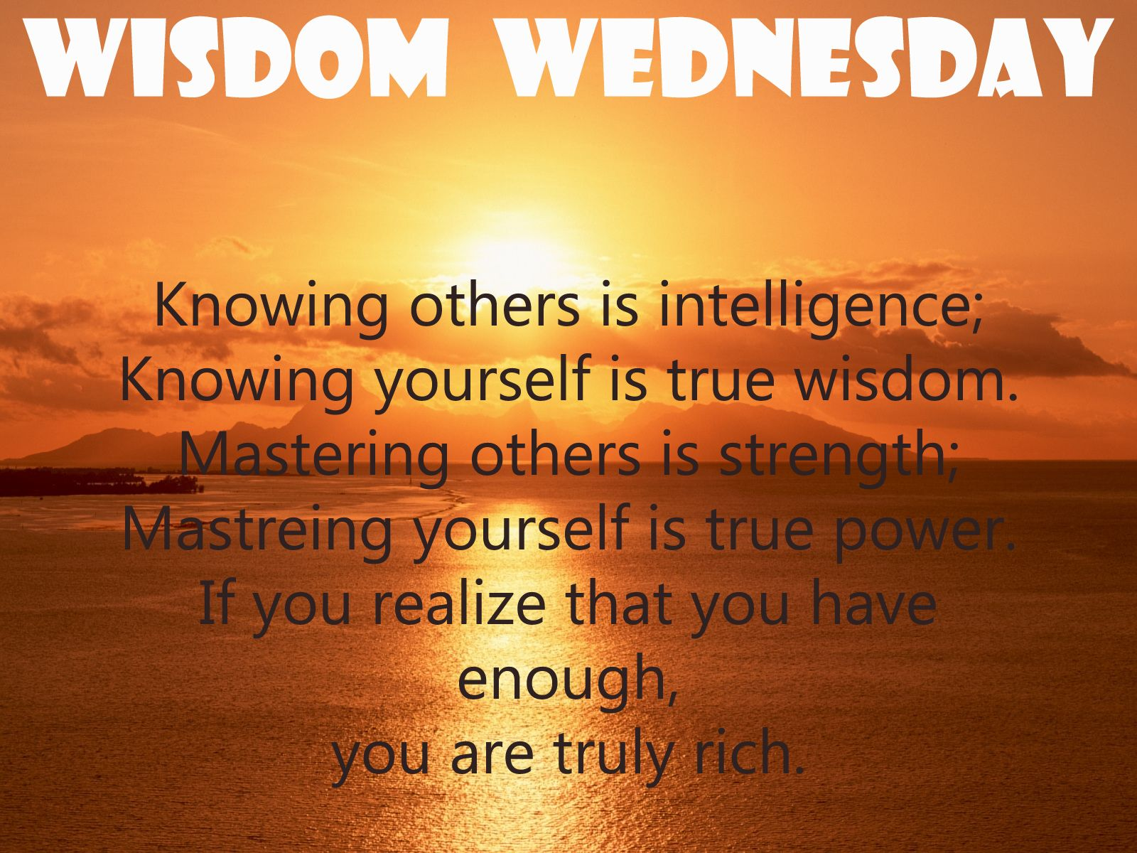 Wednesday Motivational Quotes 2