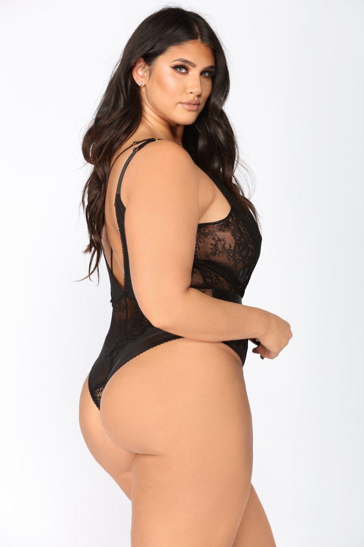 Lace bodysuit boohoo  Manipulation Teddy Bodysuit  Black  Bodysuit Final sale and Lingerie