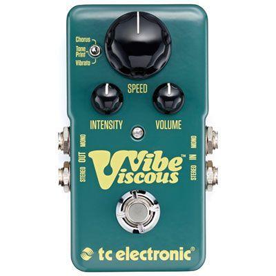 TC Electronic Viscous Vibe Guitar Pedal #guitarpedals TC Electronic Viscous Vibe Guitar Pedal #guitarpedals