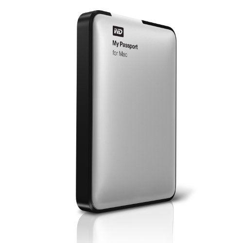 Western Digital My Passport for Mac 1 TB USB 2.0 External