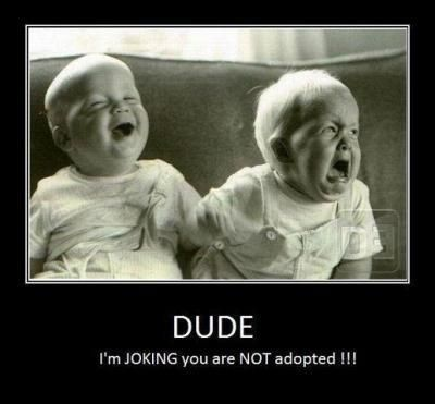 Not Adopted Great Idea For Birthday Card My Twin Brothers Sisters
