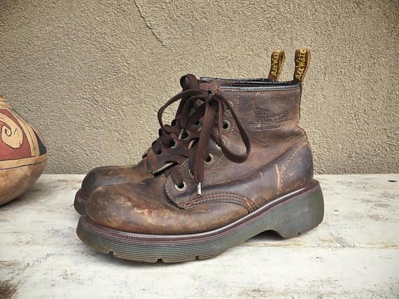 Rare Dr Martens Boots No Stitching UK Size 5.5 US Women Size 7.5 ... 5c7dc79f407