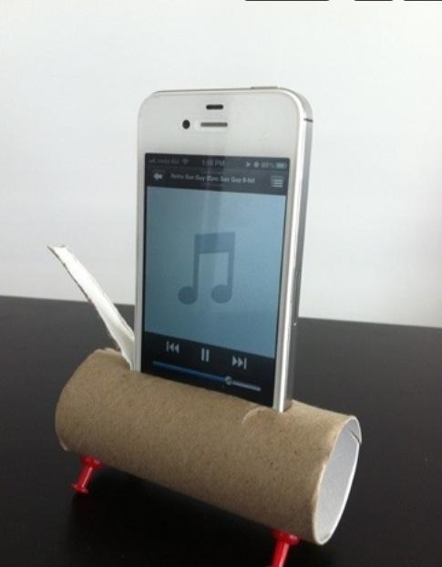 iPhone Speaker | Reddit | Pinterest | Clever and Craft