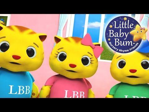 Three Little Kittens Nursery Rhymes From Littlebabybum Youtube