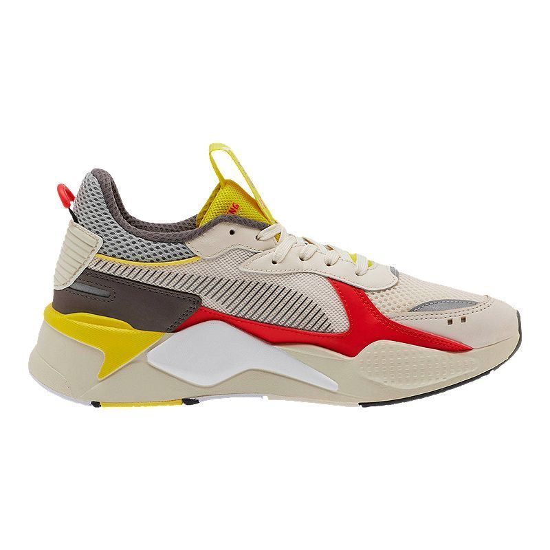 PUMA Men's RS-X Bold Shoes - Whisper White/High Risk Red ...