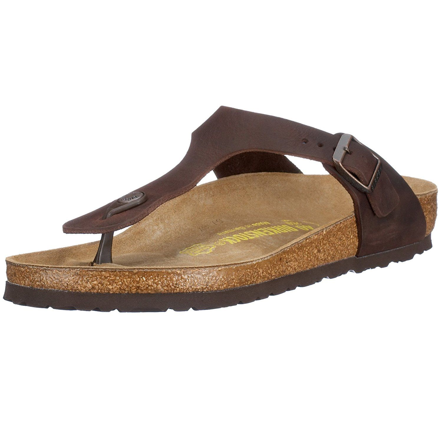 Birkenstock Women s Gizeh Cork Footbed Thong Sandal   Check this awesome  image   Women s Flats Sandals ec7b33886d