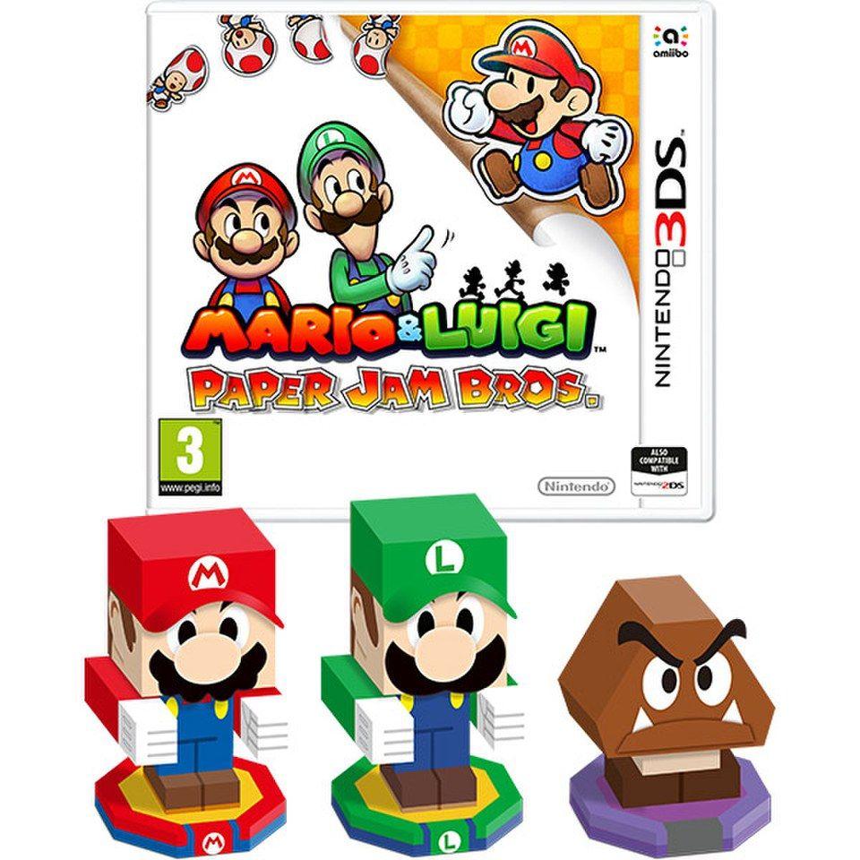 Mario Luigi Paper Jam Bros Mario And Luigi Mario Luigi