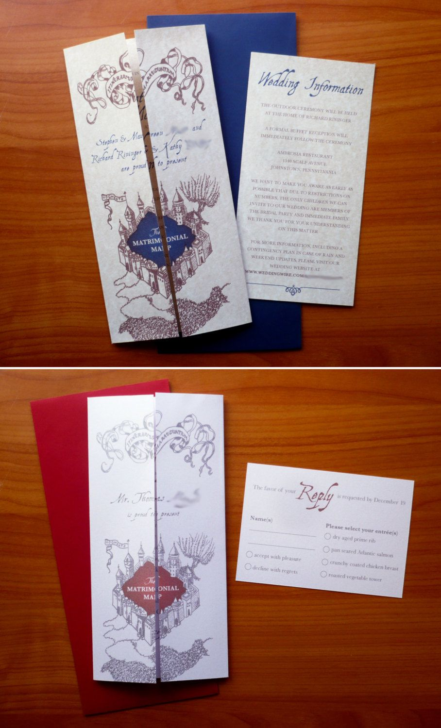 hogwarts express ticket save the dates! these make me want a harry, Wedding invitations