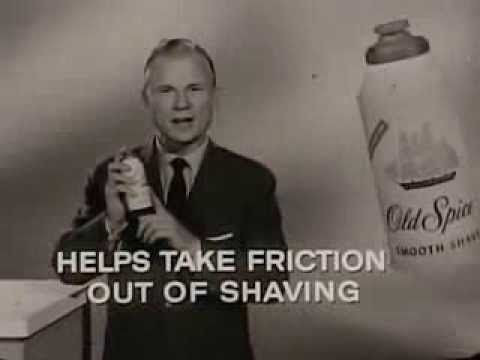Vintage Old 1960's Shulton Old Spice Smooth Shave Shaving Cream