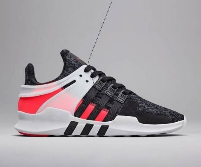 a8f0903fe0a Adidas EQT Support ADV 91 16 Black Turbo Red BB1302 Size 8-13 LIMITED