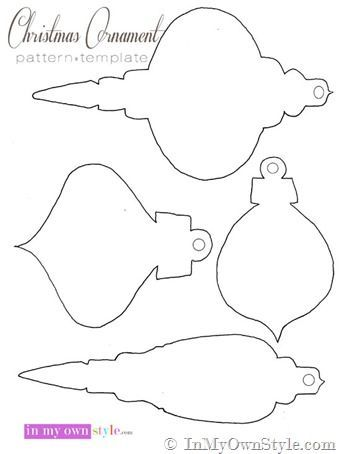 Christmas-Ornament-Pattern-to-cut-out: | Scrollsaw and Laser cut ...