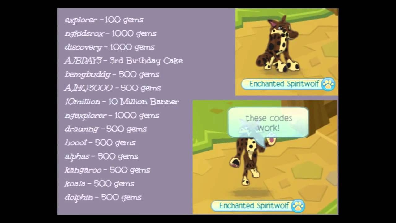 100 Photos of Animal Jam Codes List