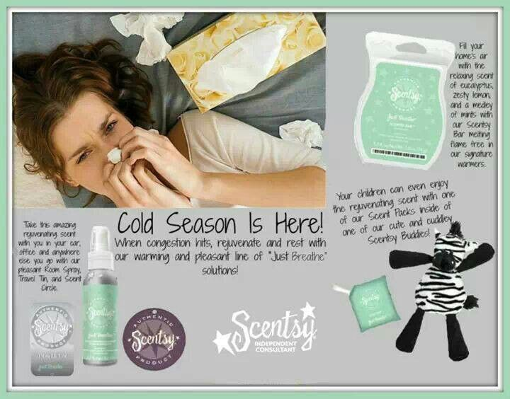 Cold season?? Scentsy can help there also