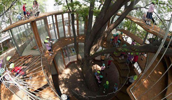 Kinder Garden: Fuji Kindergarten In Tokyo, Japan