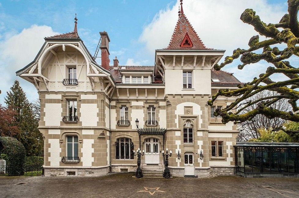 To sale - XIXth century MANOR in Ouchy - Lausanne with panoramic views - Emile Garcin - Genève