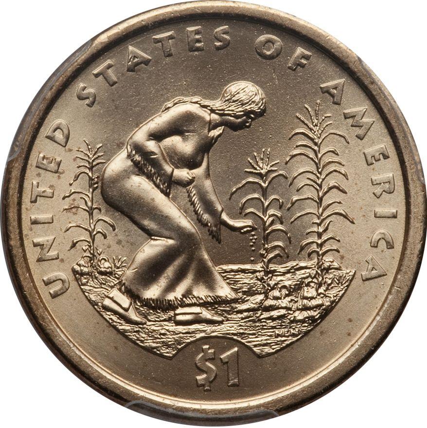 2009 P Sacagawea Native American Dollar Value