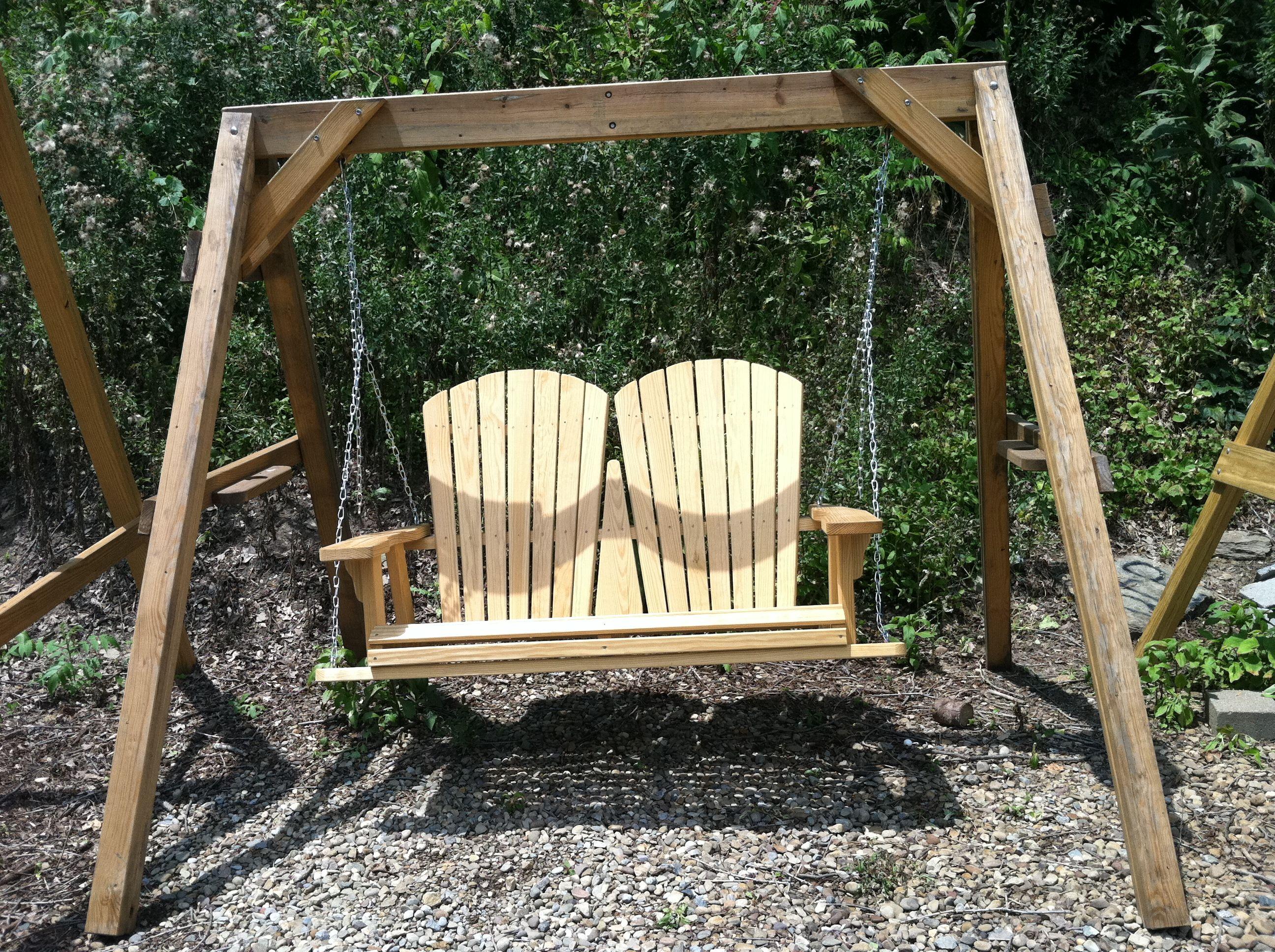 foot adirondack swing furniture pinterest garden seat