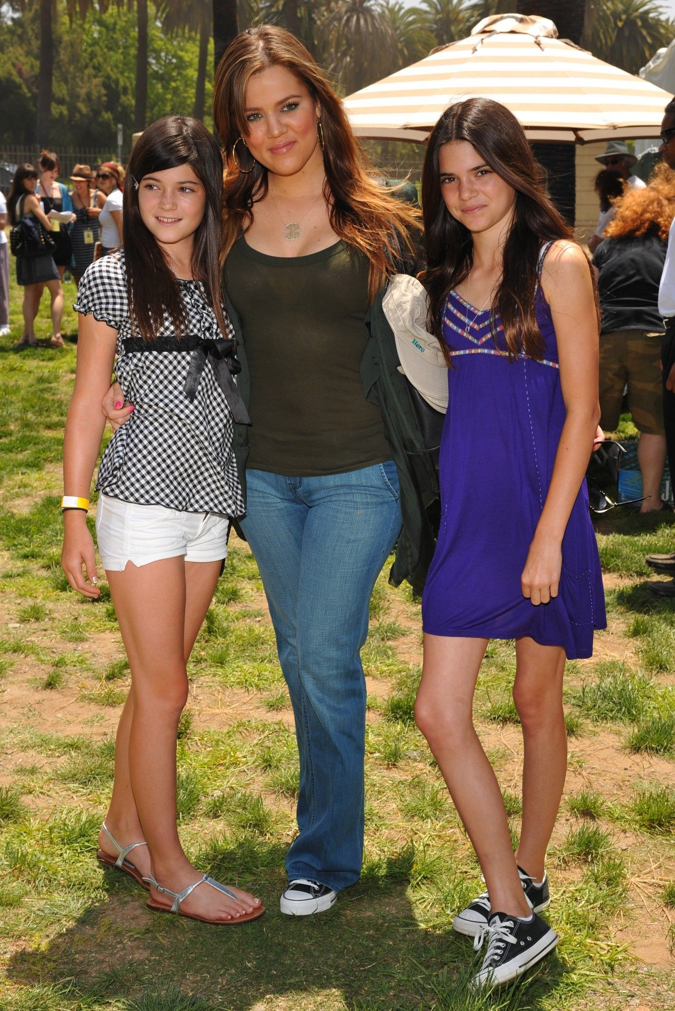 Kylie Jenner Khloe Kardashian And Kendall Jenner Kardashian Kids Kardashian Kyle Jenner