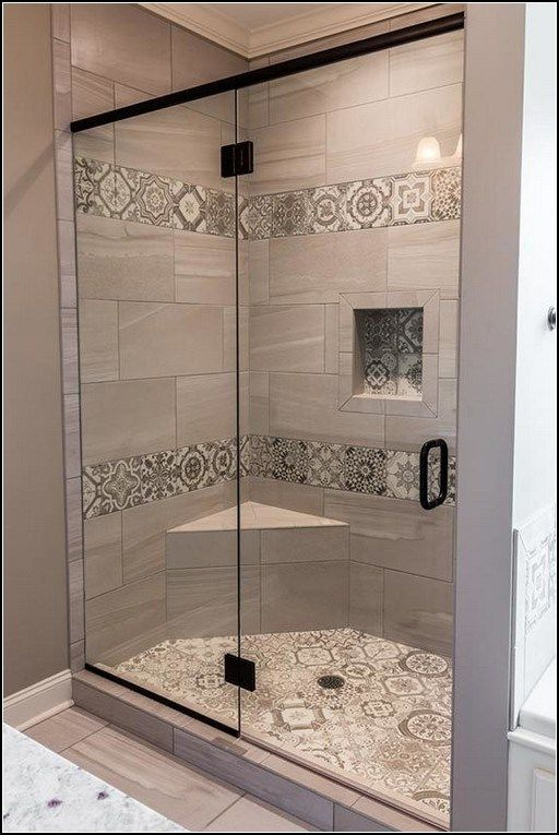 110 Of Our Favorite Shower Tile Ideas 32 In 2020 Country Style Bathrooms Master Bathroom Shower Bathroom Shower Design