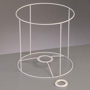 Lampenschirm Gestell Rund 20 Cm O 20 Cm Weiss Lampenschirm Gestell Lampenschirm Lampe