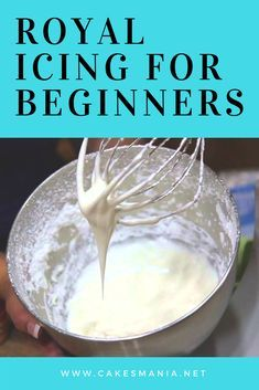 Royal Icing For Beginners #easyroyalicingrecipe