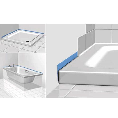 Classi Seal Waterproof Bath and Shower Tray Sealing Kit