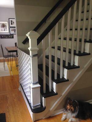 curly girl diy fabric baby gate dogs i like pinterest. Black Bedroom Furniture Sets. Home Design Ideas