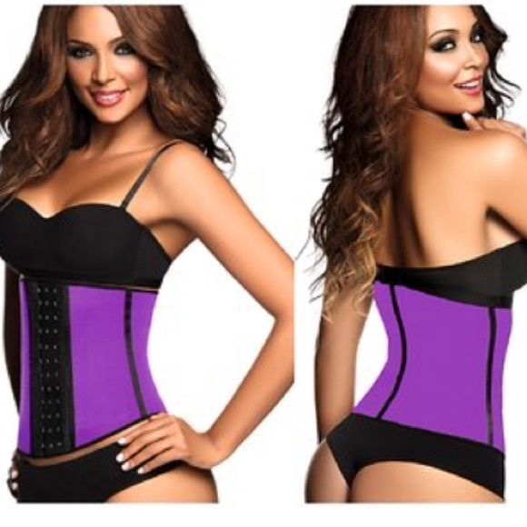 Sz38 Ann Chery 3 Hook Sports Waist Trainer Aunthetic Colombian Ann