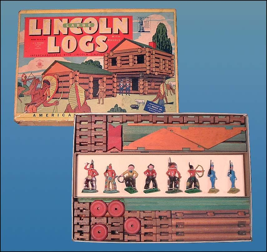 Lincoln Logs This Set Was Originally
