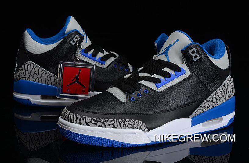 """Top Deals New Air Jordan 3 Retro """"Sport"""