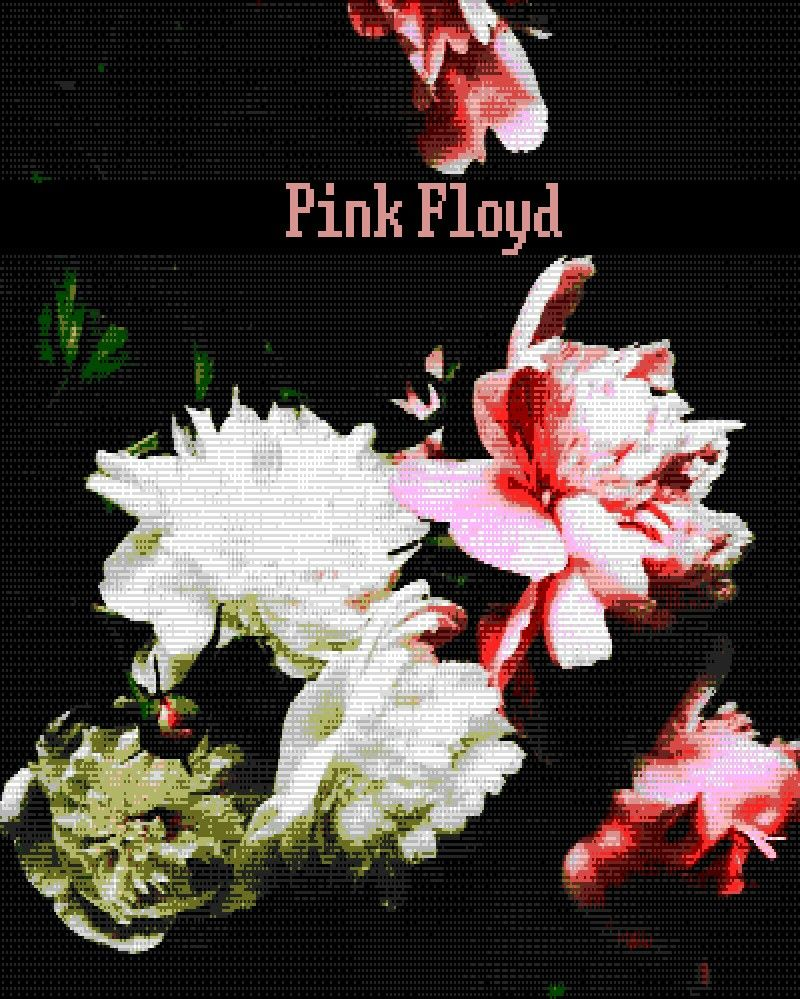 8bit Flowers Pink Pinkfloyd 8bit Pinterest Flowers And Pink