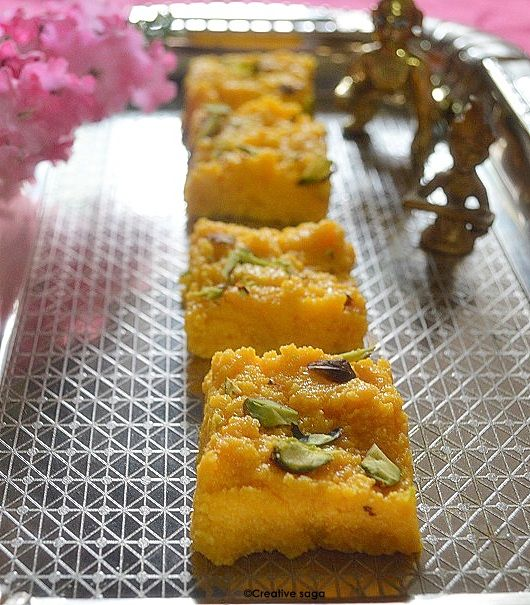 Mango Kalakand Recipe How To Make Mango Burfi Mango Recipes Kalakand Recipe Recipes Mango Recipes