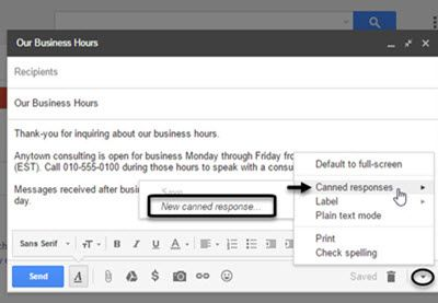 How To Create Email Templates In Gmail With Canned Responses By