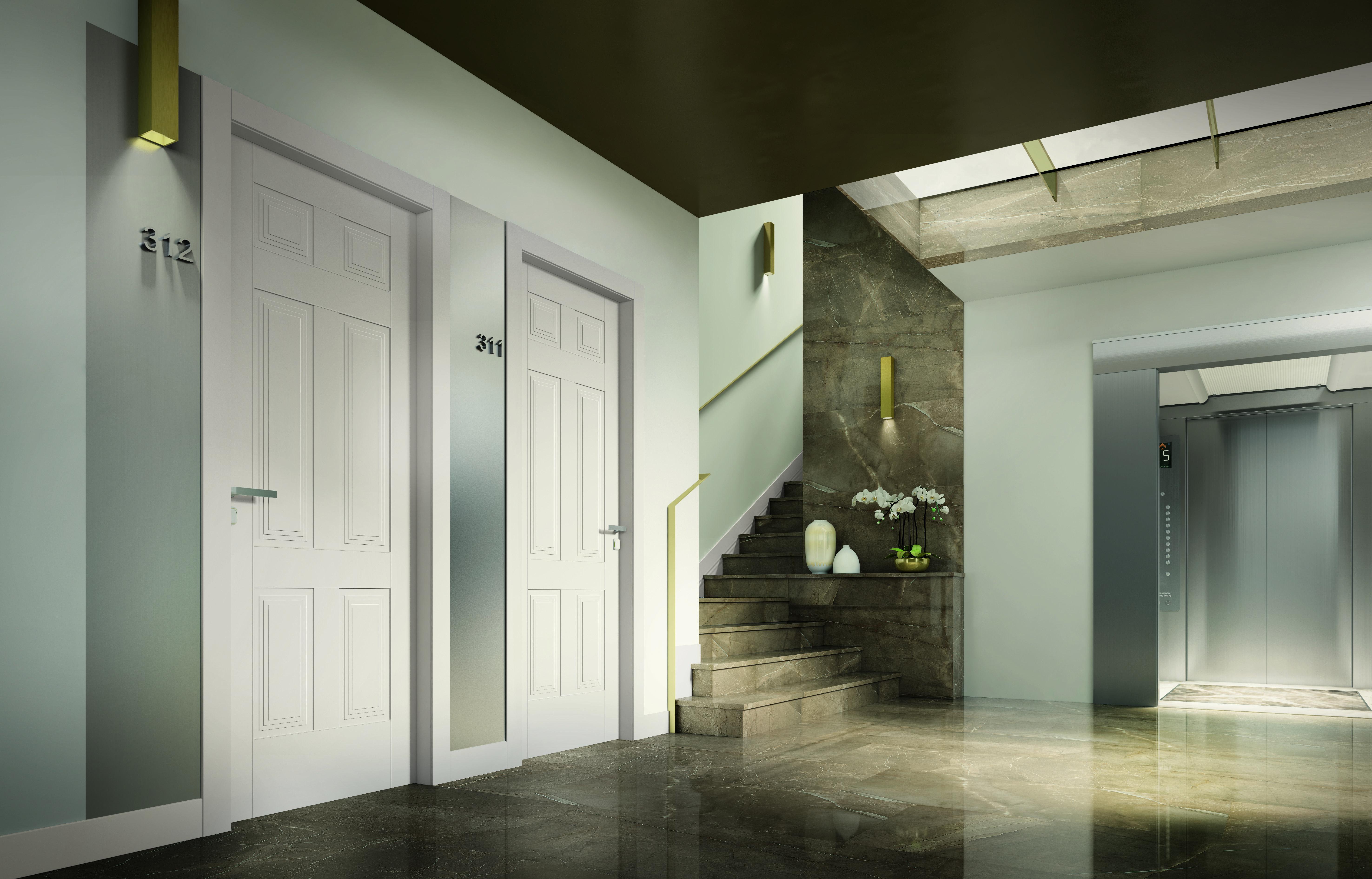 Le porte GD Dorigo si adattano a qualsiasi ambiente ...
