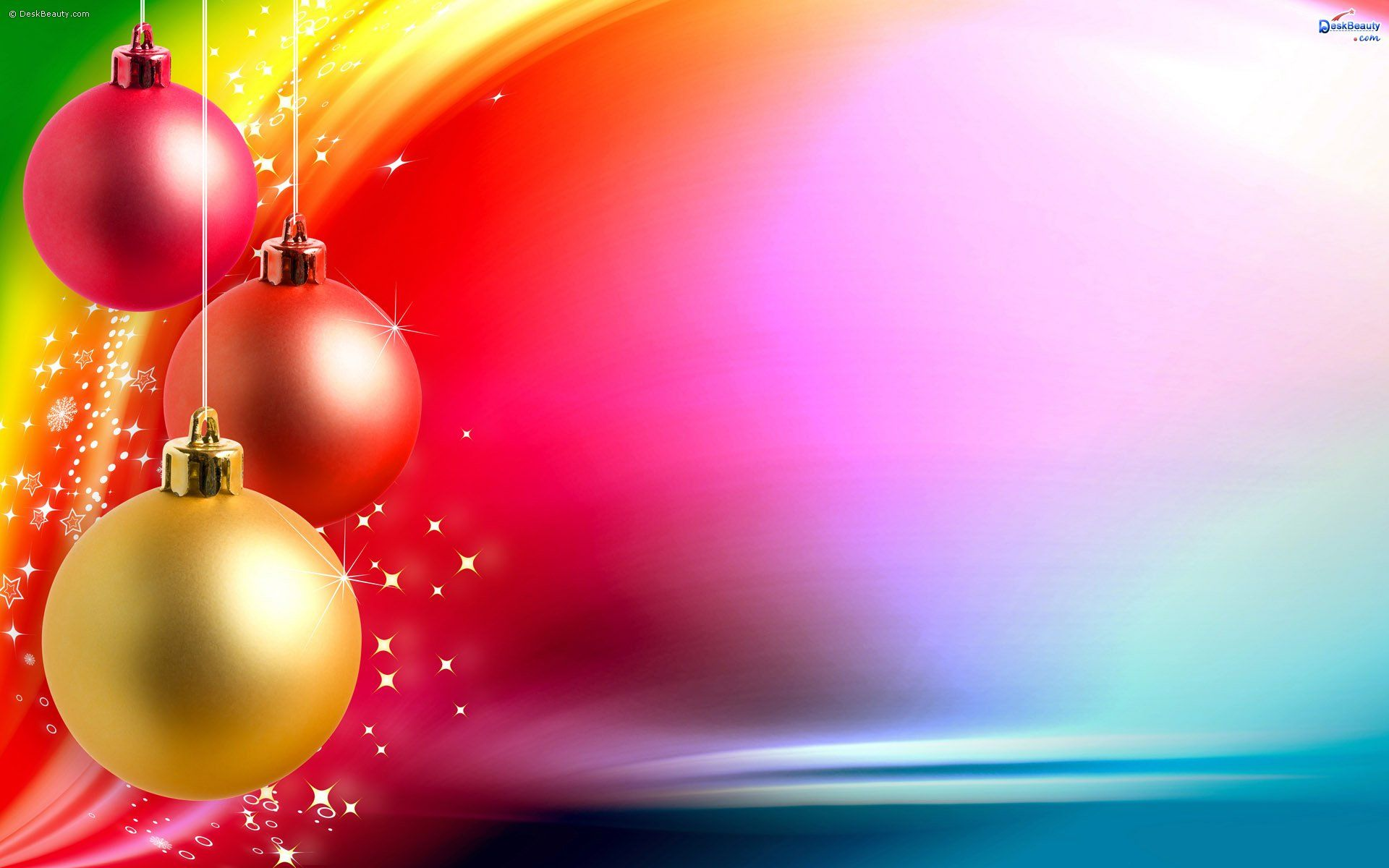 Colorful Christmas Christmas Background Images Christmas
