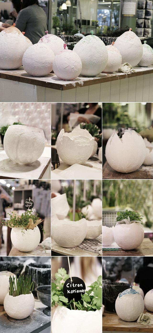 Easter diy wohnlust easter craft and concrete