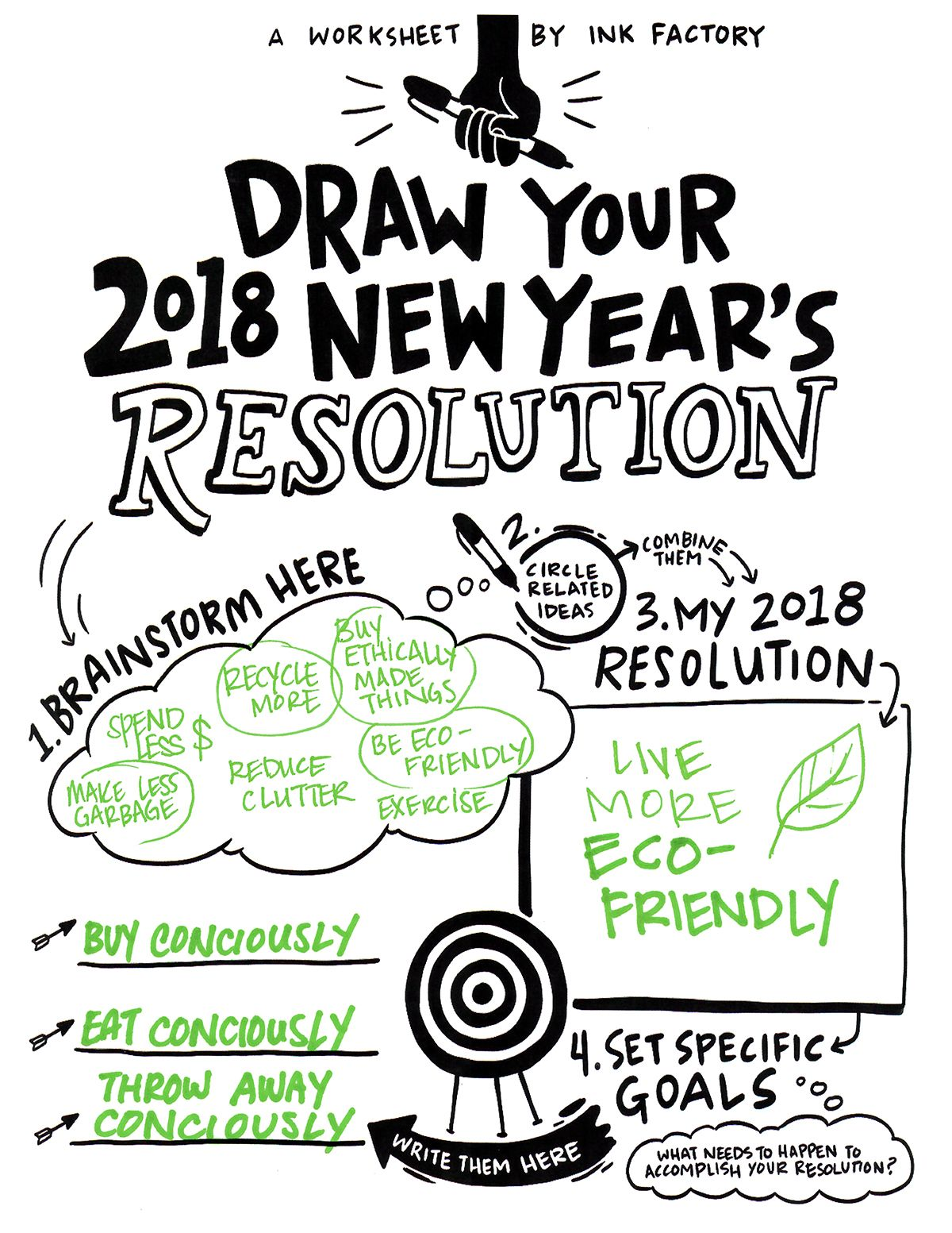 Draw Your New Year S Resolution