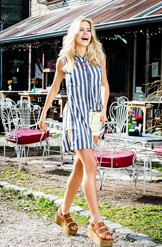 Exceptional Moda Mujer Primavera Verano 2016. Reina Ana Primavera Verano 2016.