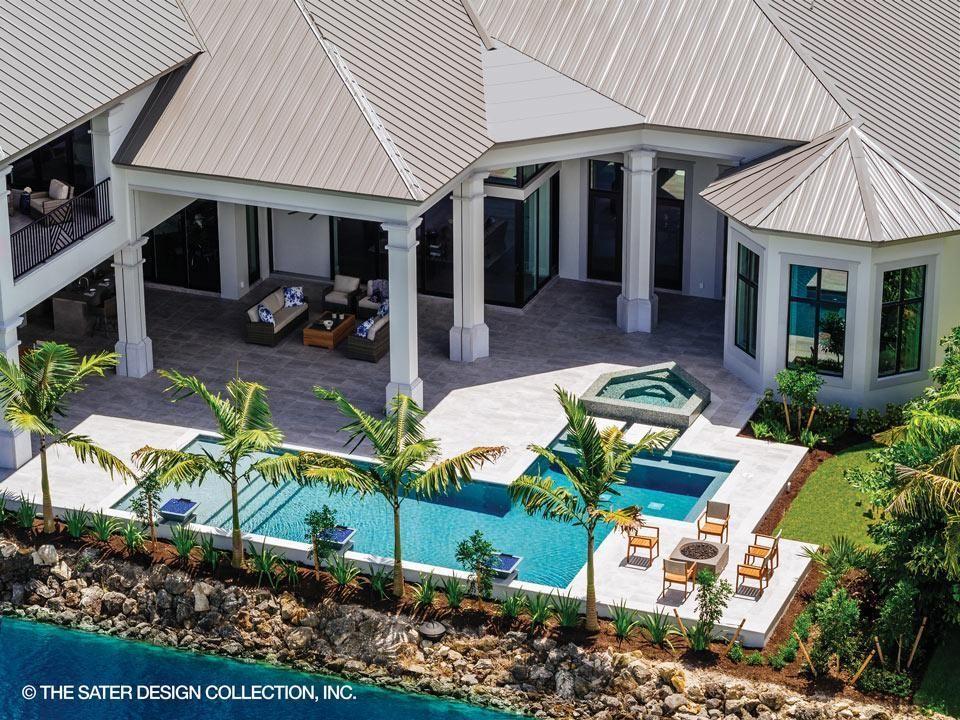 Stillwater House Plan Contemporary House Plans House Plans Contemporary Style Homes